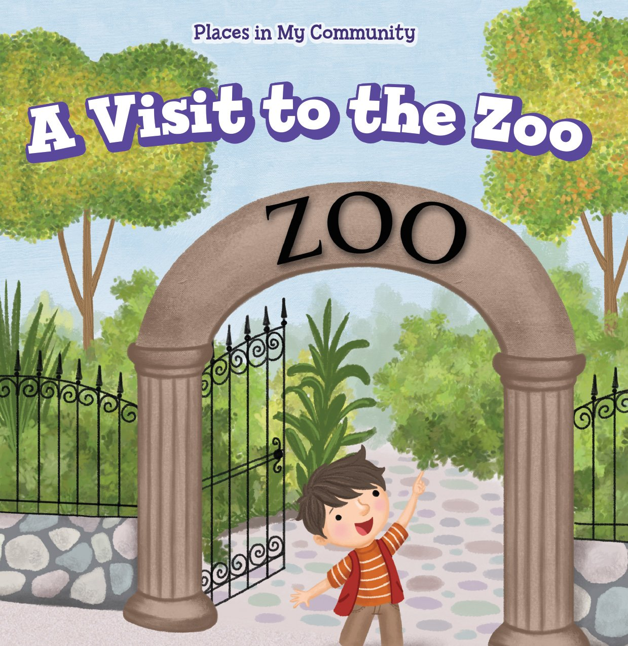 Read Online A Visit to the Zoo (Places in My Community) pdf