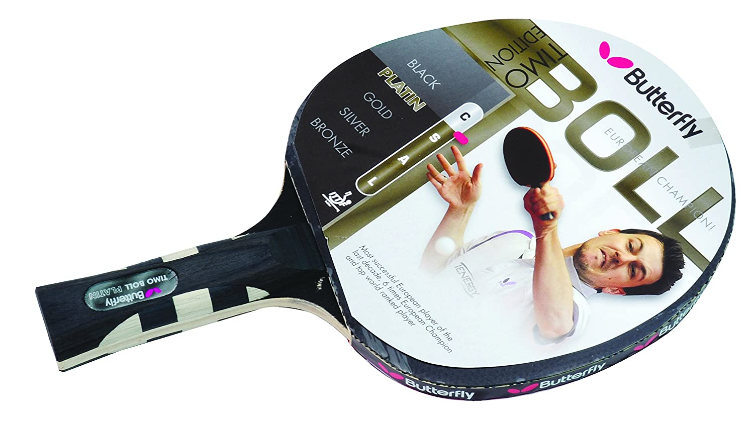 Butterfly timo boll platin raquette de ping pong multicolore ebay - Butterfly tennis de table ...
