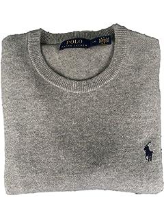 Polo Ralph Lauren Mens Crew-Neck Wool Pony Logo Sweater