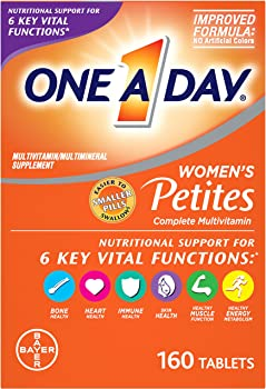 160-Count ONE A DAY Womens Multivitamin Supplement Petites