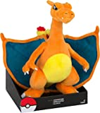 """Exclusive Officially Licensed 12"""" Jumbo Pokemon Charizard Plush Toy With Stand"""