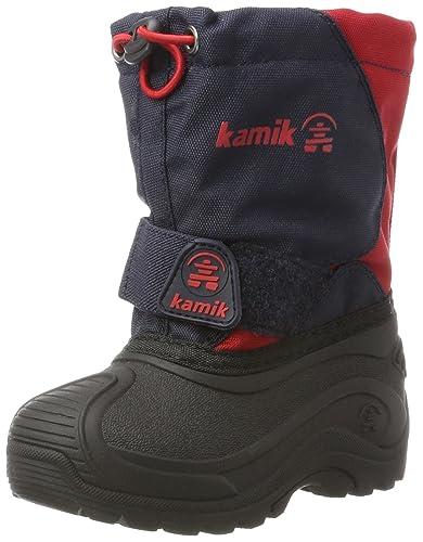 Kamik Unisex-Kinder Snowfox Schneestiefel, Blau (Navy Red-Marine Rouge 1e981bbf14