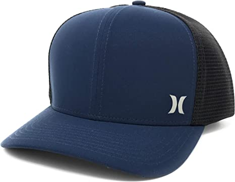 Hurley Mens Milner Curved Bill Snapback Trucker Cap (One Size ...