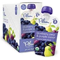 12-Pack Plum Organics Baby Second Blends