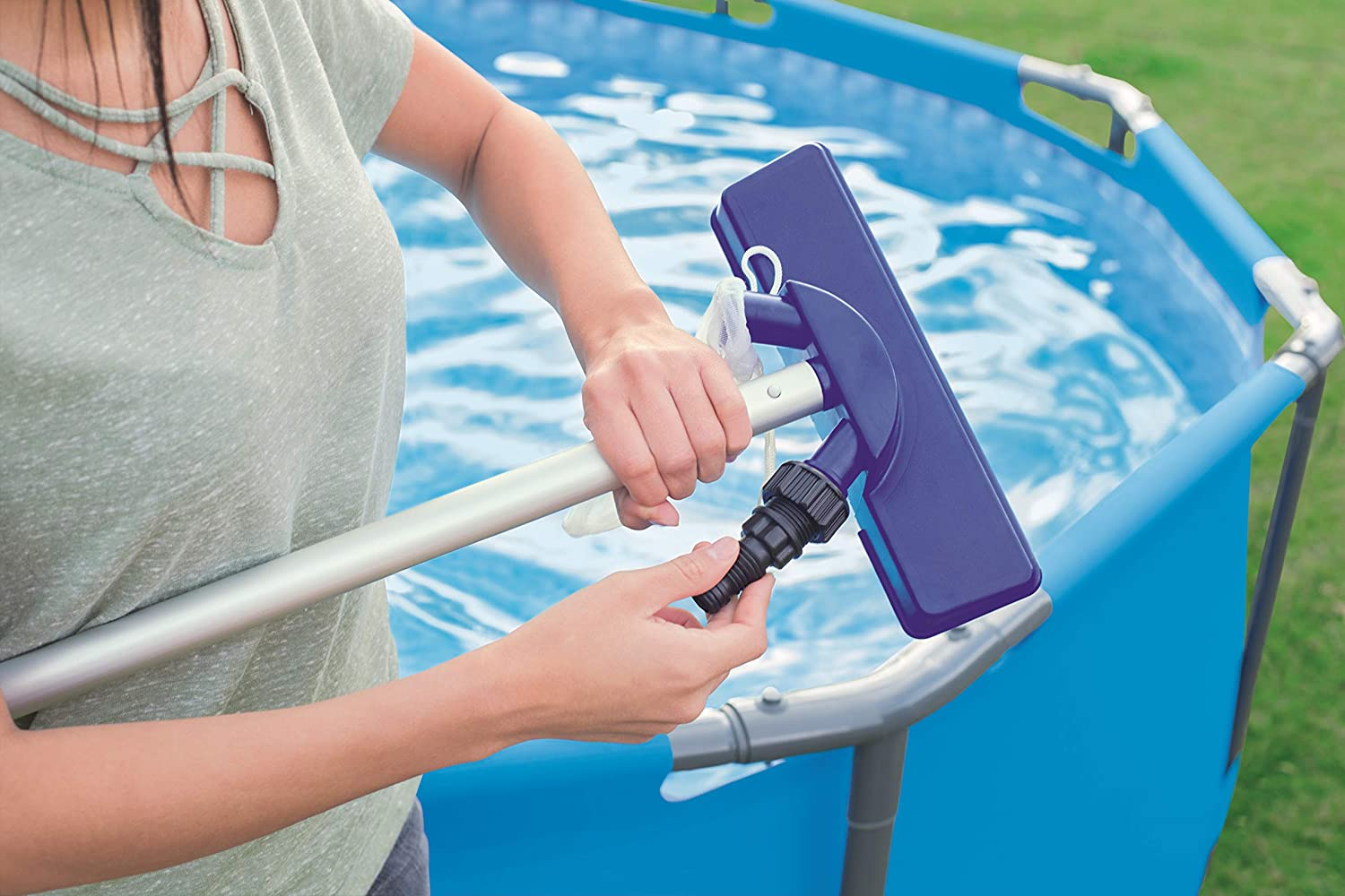 Amazon.com: FLOWCLEAR piscina sobre piso Kit de ...