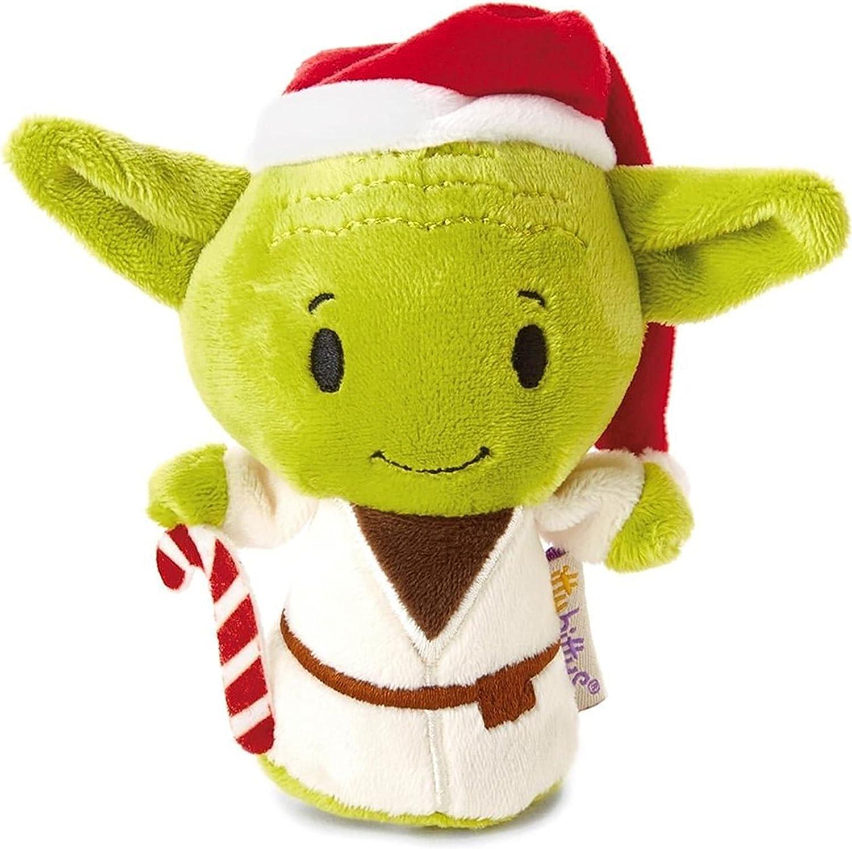 Hallmark 25468862 Star Wars Yoda Christmas Itty Bitty Soft Toy