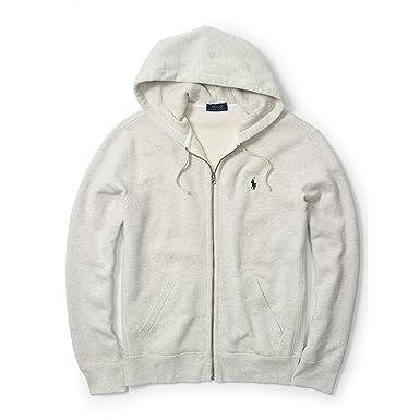 Polo Ralph Lauren Big \u0026 Tall Men\u0027s Classic Fleece Zip up Hoodie Jacket  Sweatshirt, (