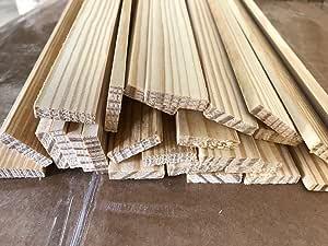 "Natural Wood Craft Sticks 5-1//2/"" Tall People 36 Pieces"