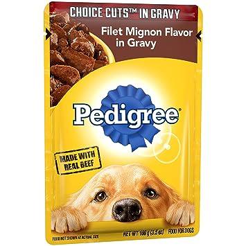 Amazon.com: Alimento húmedo para perros, bolsas de ...