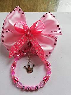 Personalised Pram Charm Personalised Dummy Clip Baby And Pram Accessories