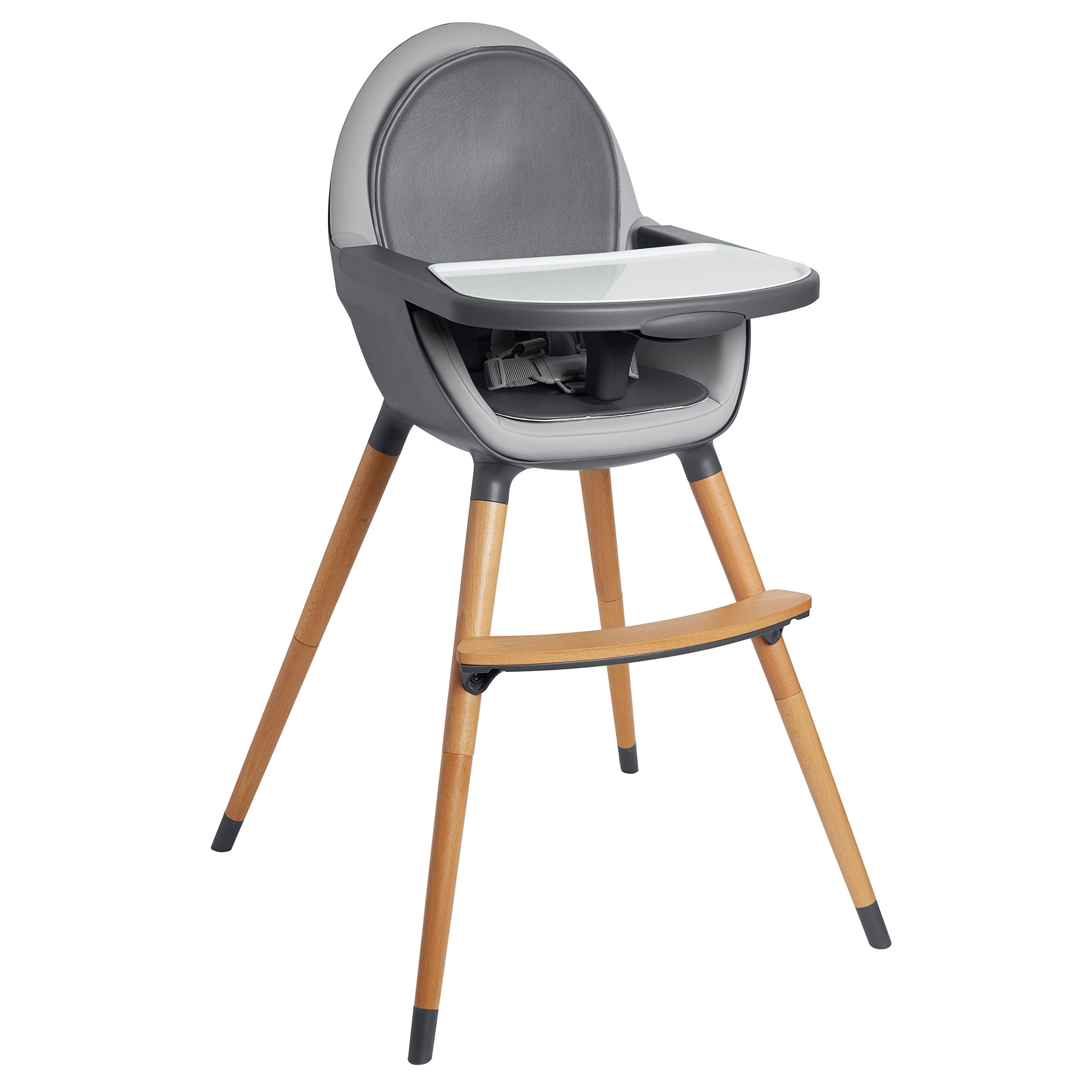 Skip Hop Tuo Convertible High Chair, Charcoal Grey by Skip Hop (Image #1)