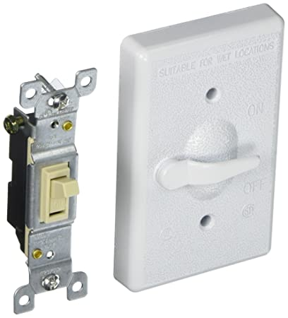 Hubbell 5121 1 Bell Raco Weatherproof Switch Cover 4 3964 In L X 2