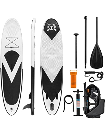 Klarfit Spreestar • Tabla de pie Hinchable • Paddleboard • Paddle Surf • Tabla Sup 300x10x71
