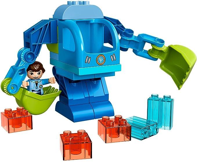 LEGO 10825 DUPLO Miles Exo-Flex Suit Construction Set: Amazon.co.uk ...