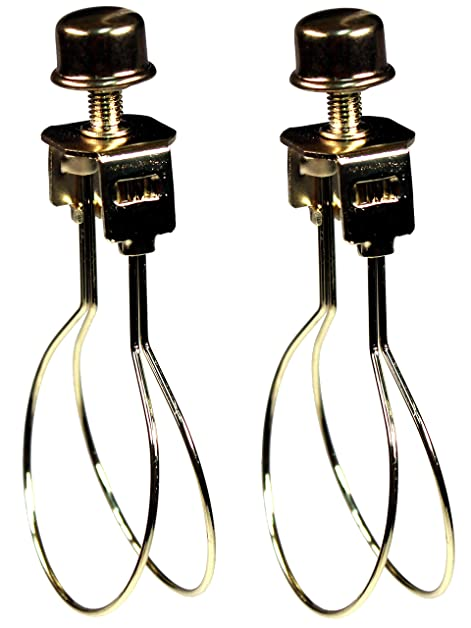 Creative hobbies 2 pack lamp shade light bulb clip adapter clip creative hobbies 2 pack lamp shade light bulb clip adapter clip on with shade attaching mozeypictures Gallery