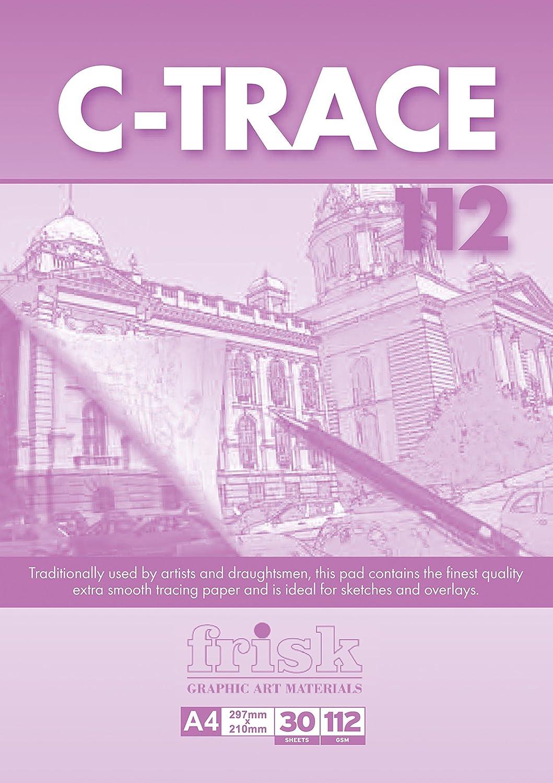 Frisk C-Trace - Carta trasferibile, 112 Gm, formato A4, 30S, trasparente Artcoe 23112148