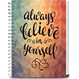 Tools4Wisdom Planner 2017-2018 Calendar with Daily Weekly Monthly and Yearly 8.5-x-11-Inch Premium Color Journal Pages