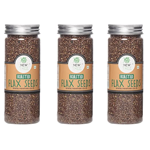 New Tree Roasted Flax Seeds 150gm Set of 3