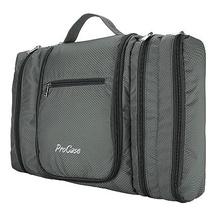 9dc6bbfdf81f Amazon.com   ProCase Hanging Toiletry Bag