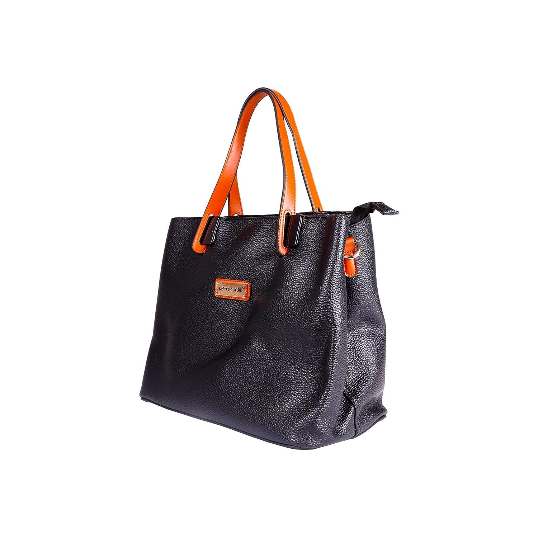 Amazon.com: Pierre Cardin Womens/Ladies Faux Leather Handbag ...