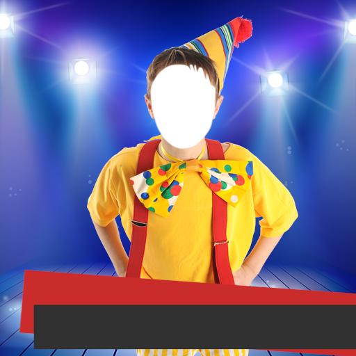 Ballerina Clown Costume (Kids Costume Photo Montage)