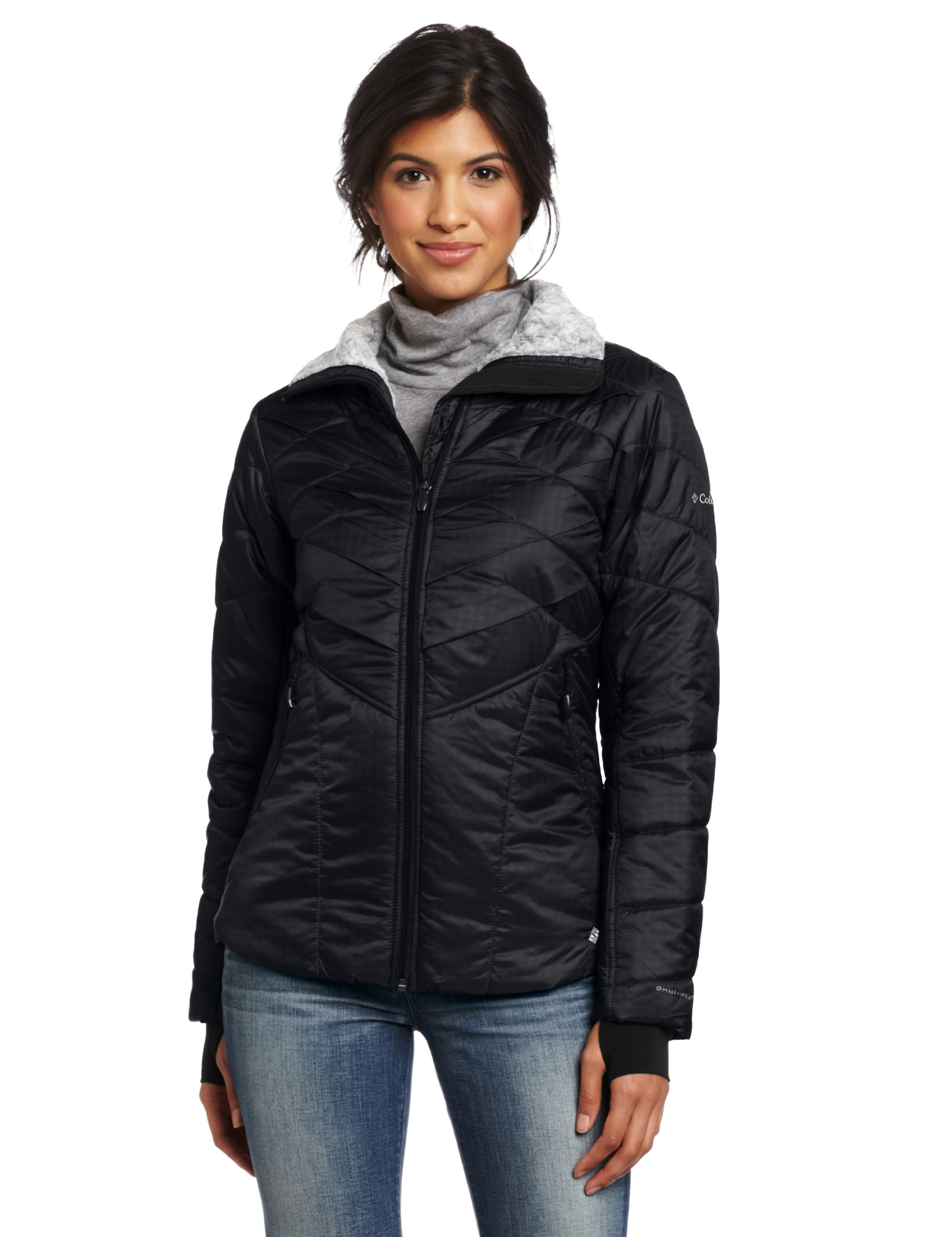 Columbia Women's Kaleidaslope II Jacket, Black, Large