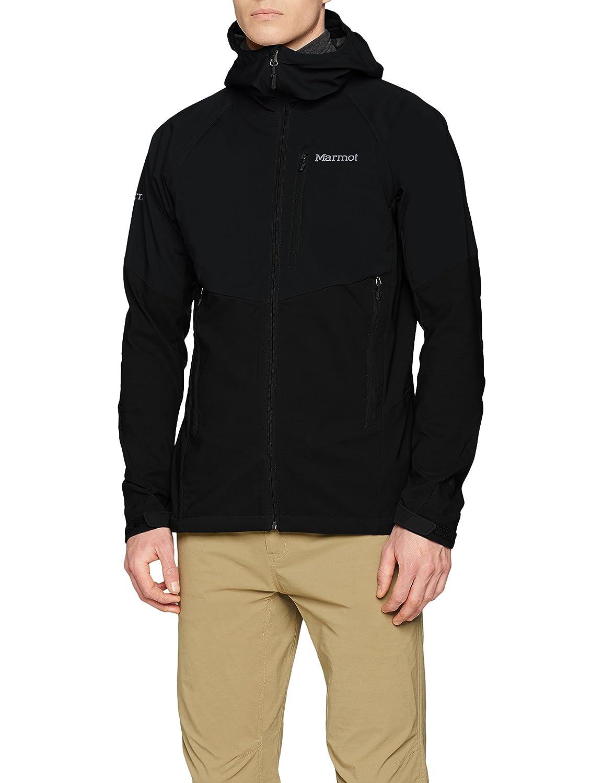 TALLA S. Marmot ROM Jacket Chaqueta Softshell, al Aire Libre, Anorak, Repelente al Agua, Transpirable, Hombre
