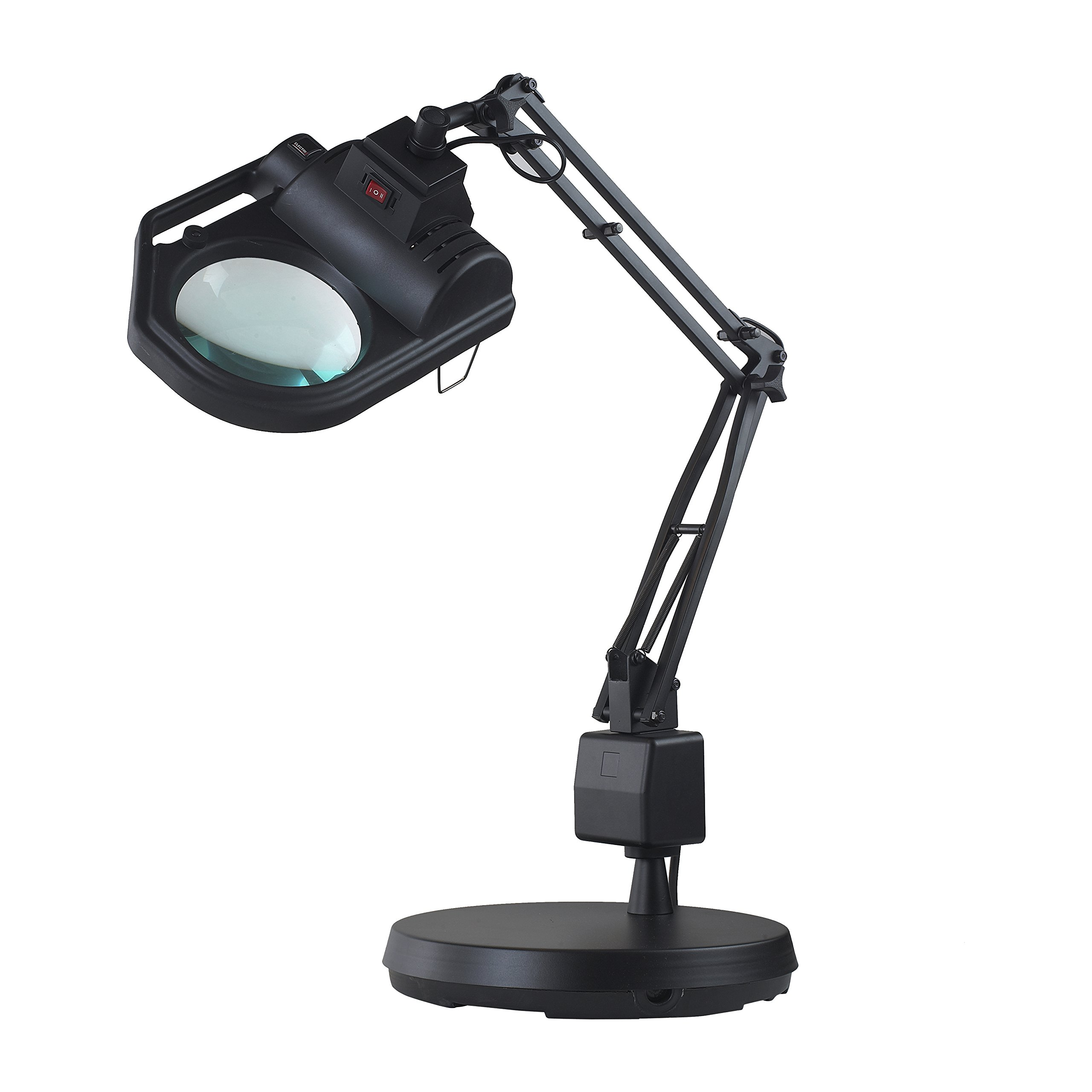 Electrix 7428-5D Halogen SLX Power Series Magnifier 30'' Reach with Weighted Base