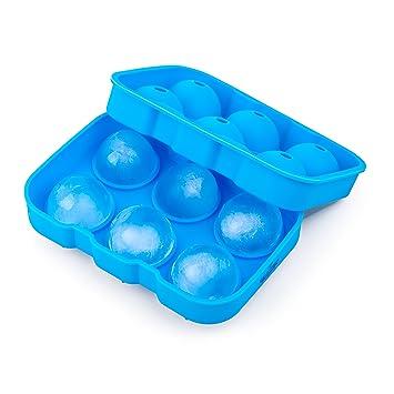 California casa mercancías esfera bolas de hielo molde hace 6 Whisky silicona bola de hielo bandeja