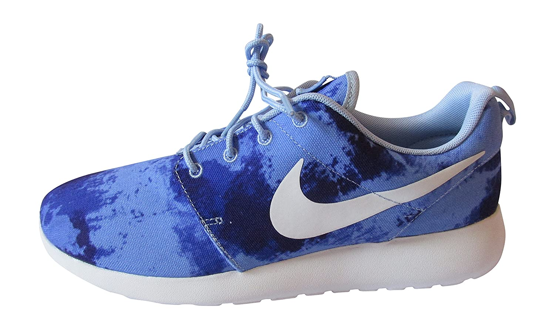 Nike Rosherun 511881 Herren Low-Top Sneaker  43 EU Aluminium Wei? Persisch Violet 415
