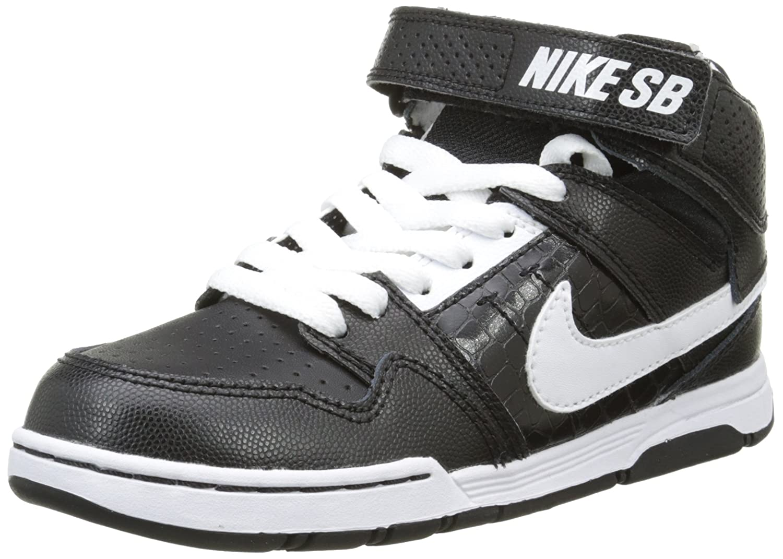 finest selection fec21 eb165 Nike Nike Nike Mogan Mid 2 Jr B, Scarpe da Skateboard Bambino B006X17JOU  38.5 EU Nero Bianco (Nero Bianco-nero)   Di Prima Qualità   Diversi stili e  stili ...