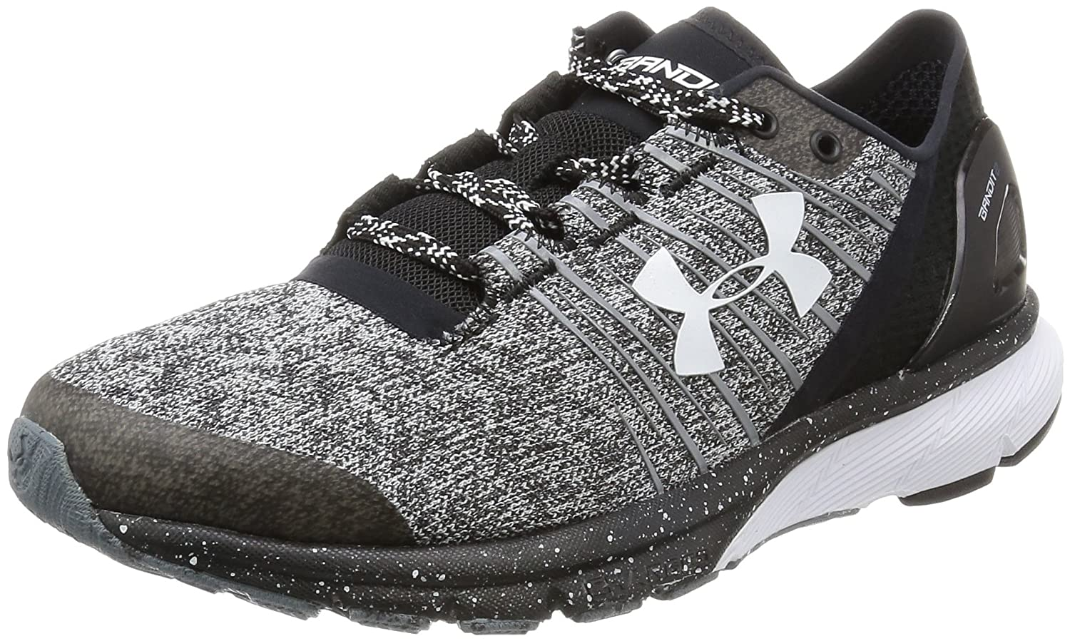 Under Armour Women's Charged Bandit 2 Cross-Country Running Shoe B018F1GXNI 6 B(M) US|Black/Black/White