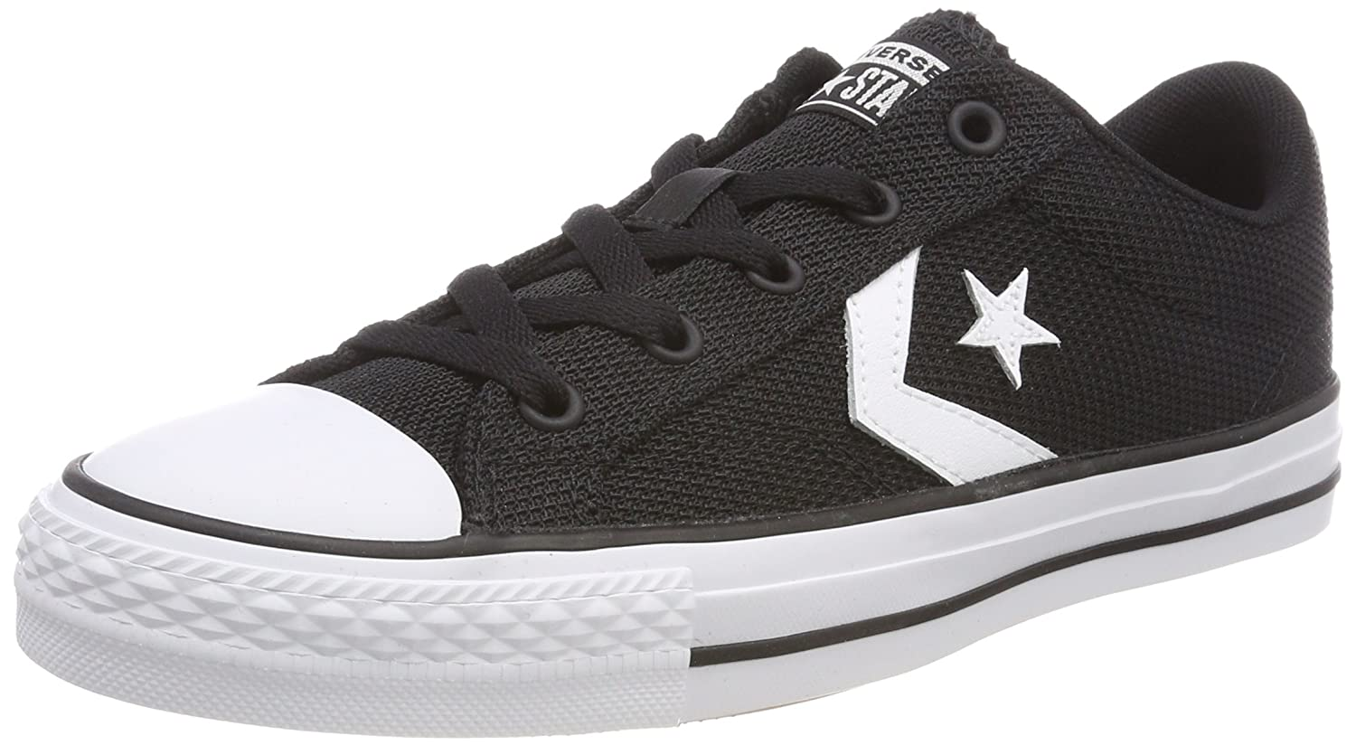 TALLA 40 EU. Converse Star Player Ox White/Black, Zapatillas Unisex Adulto
