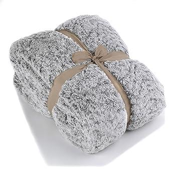 couvre lit plaid en fausse fourrure gris alinea 2300x - Couvre Lit Alinea