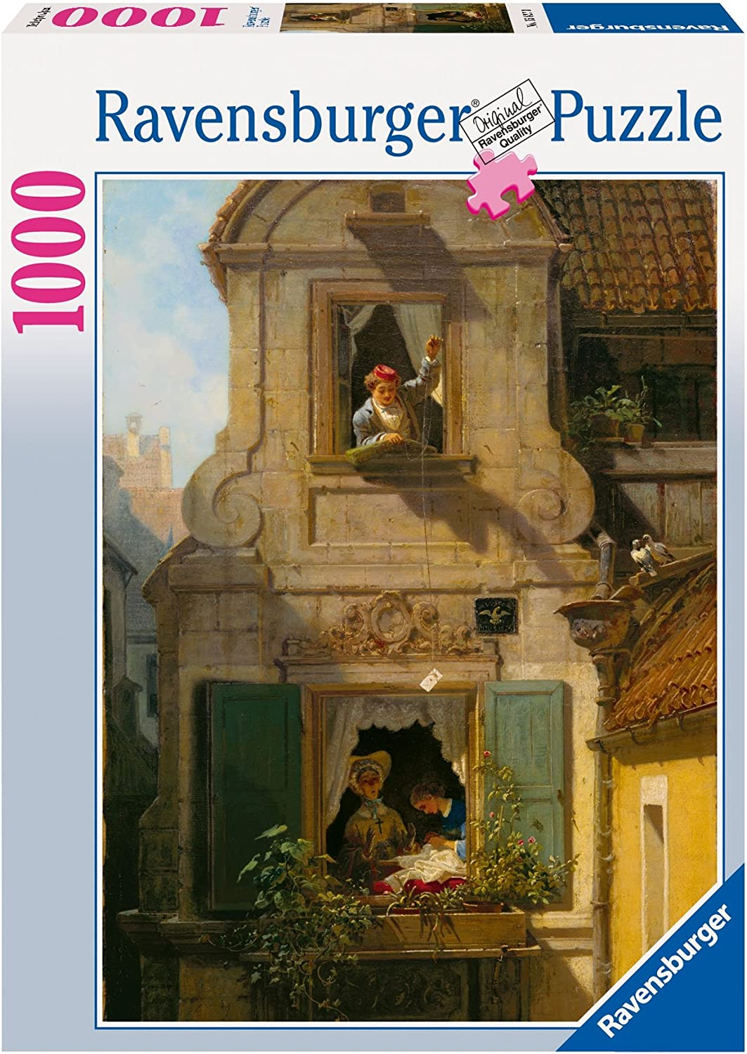1000 Piece Puzzle 15827 Ravensburger The Intercepted Love Letter