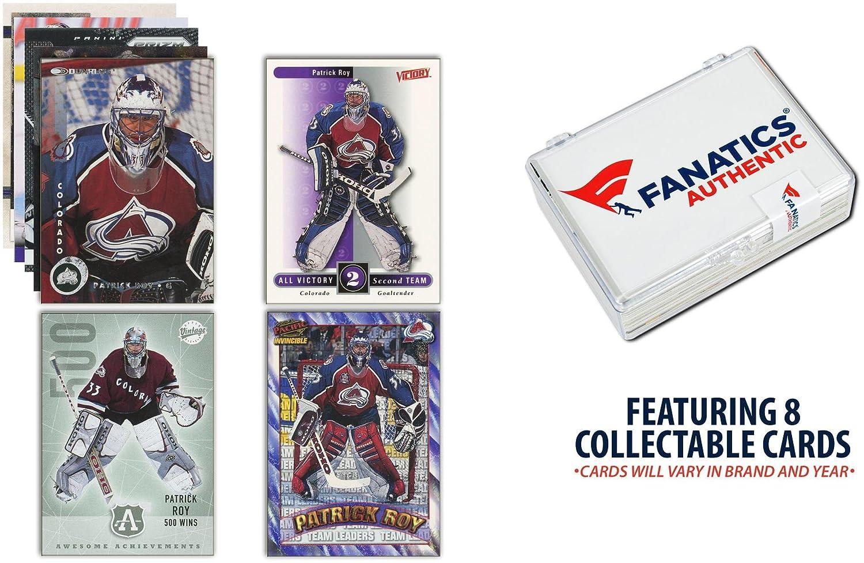 Patrick Roy Colorado Avalanche Unsigned 8 Card Lot - Hockey Player Sets Fanatics Authentic