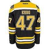 Boston Bruins #47 Torey Krug Reebok Black Premier Jersey