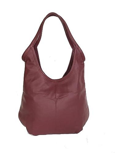 1c5003fd4368 Amazon.com  Fgalaze Leather Hobo Tote Bag