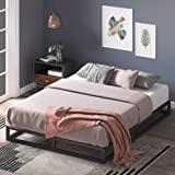 Zinus Joseph 6 Inch Metal Platforma Bed Frame / Mattress Foundation / Wood Slat Support / No Box Spring Needed / Sturdy Steel Structure, Twin