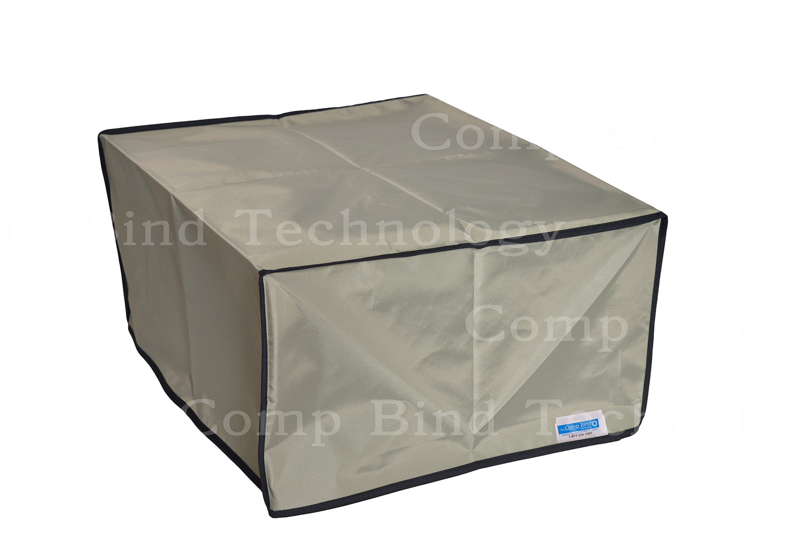 HP Latex 115 Inkjet Printer Silver Nylon Anti-Static Dust Cover 93''W x 33''D x 54'H by Comp Bind Technology