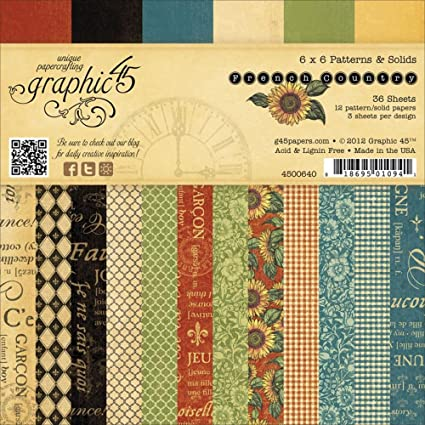 Image result for graphic 45 French Country Patterns & Solids