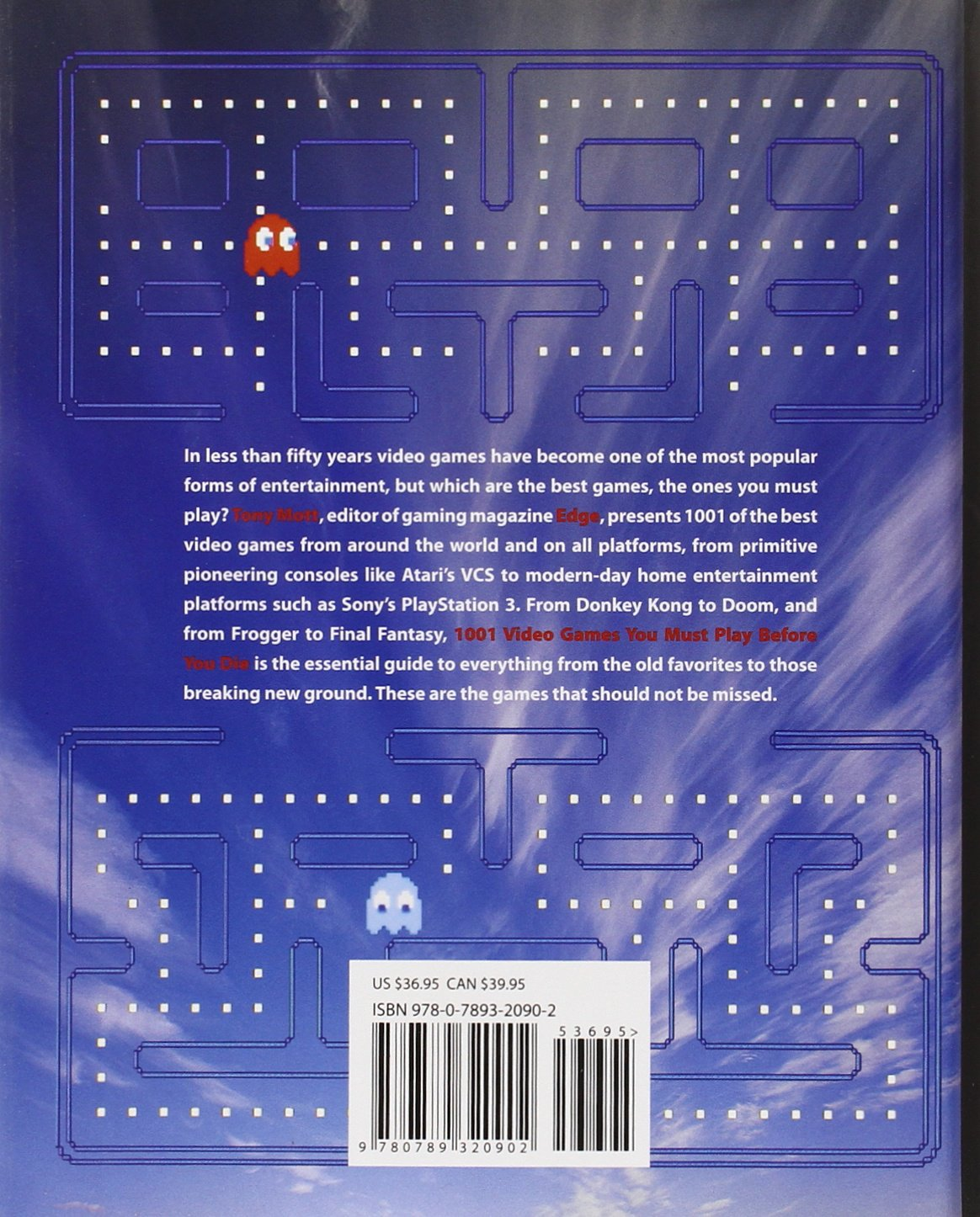 1001 Video Games You Must Play Before You Die: Tony Mott, Peter Molyneux:  9780789320902: Amazon.com: Books
