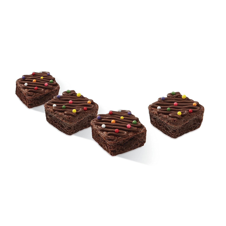 Wilton Brownie Bite Silikonform f/ür kleine quadratische Brownies 24/Mulden