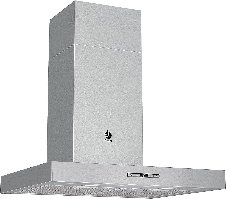 Balay 3BC865XM - Campana (Montado en pared, Canalizado/Recirculación, A+, Acero inoxidable, Botones, Aluminio): Amazon.es: Hogar