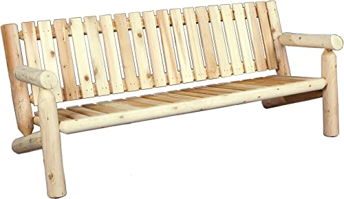 Cedarlooks 0100007 6-Feet Log Cedar Bench
