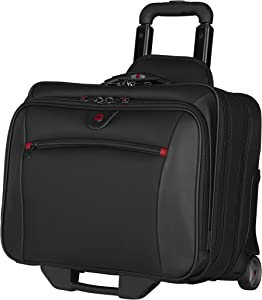 Wenger Patriot Rolling Case Blk Up To 17IN Laptop with notebook Case (WA-7953-02F00)