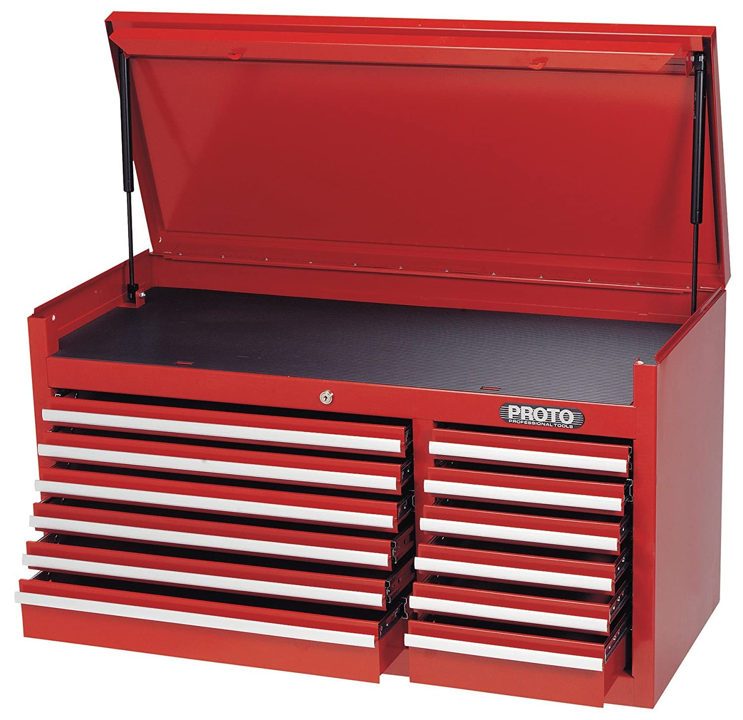 Stanley Proto J444119-12RD 440SS 41-Inch Top Chest, 12 Drawer, Red ...
