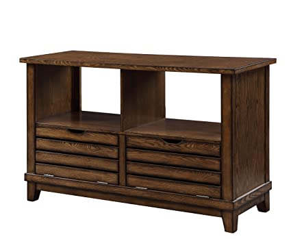 Stupendous Amazon Com Acme Furniture 86938 Gabriella Sofa Table Oak Gmtry Best Dining Table And Chair Ideas Images Gmtryco