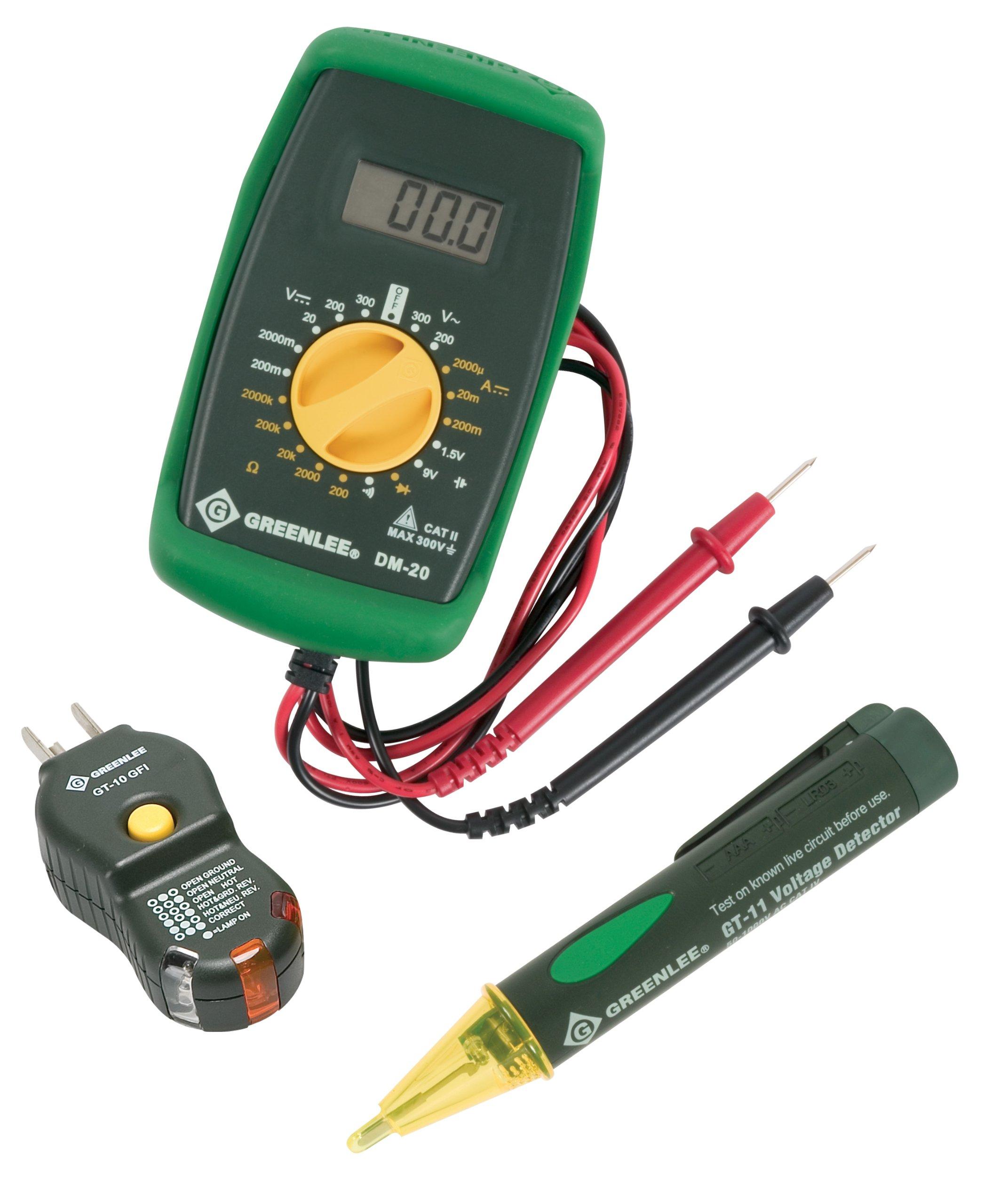 Greenlee TK-30GFI GFCI Electrical Kit