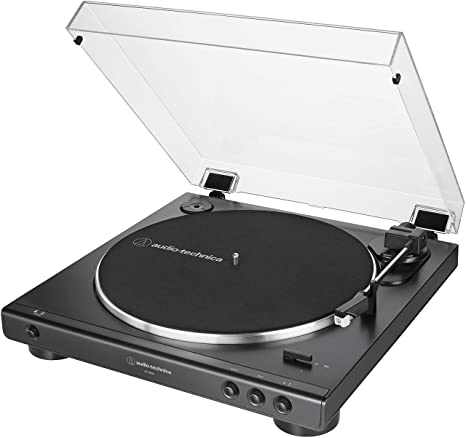Amazon.com: Audio-Technica AT-LP60X-BK - Tocadiscos estéreo ...